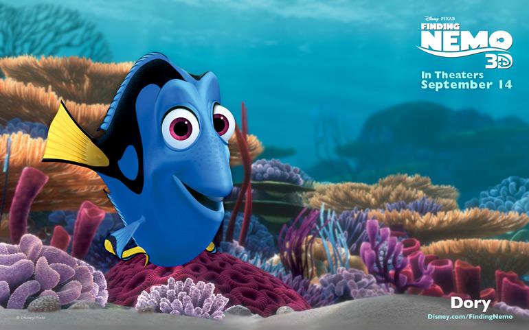 Après Le Monde de Nemo, Le Monde de Dory!