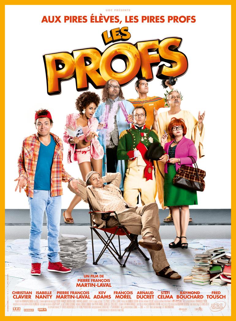 Les Profs, demain au cinéma