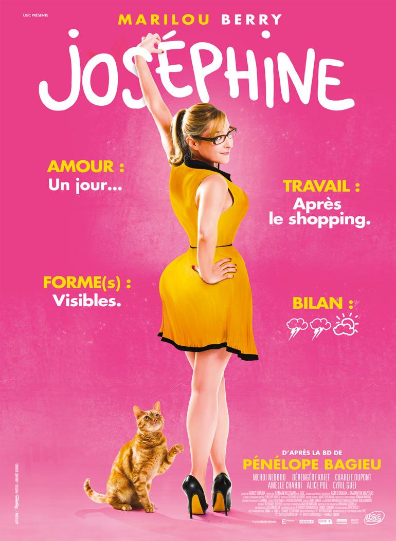Joséphine débarque au cinéma