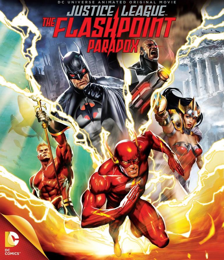 Justice League – The Flashpoint Paradox est dans les bacs