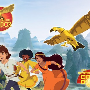 Les Merveilleuses Cités d'Or : Le vol du Condor!