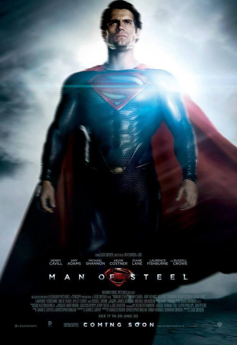 13 min de making-of pour Man Of Steel!!