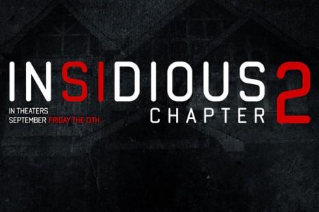 Je sursaute : Insidious revient dans un 2ème film!