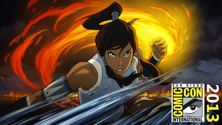 [SDCC 2013] Avatar The Last Airbender : Legend of Korra
