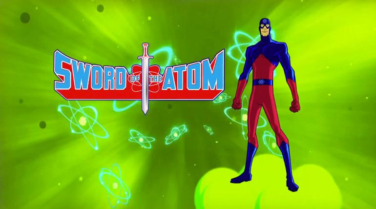 Pour vous, le court-métrage «Sword of the Atom»…