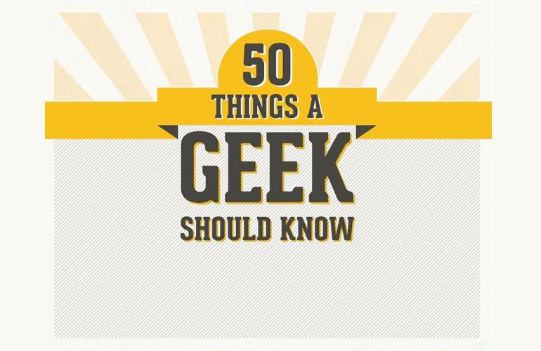 Es-tu vraiment un geek?