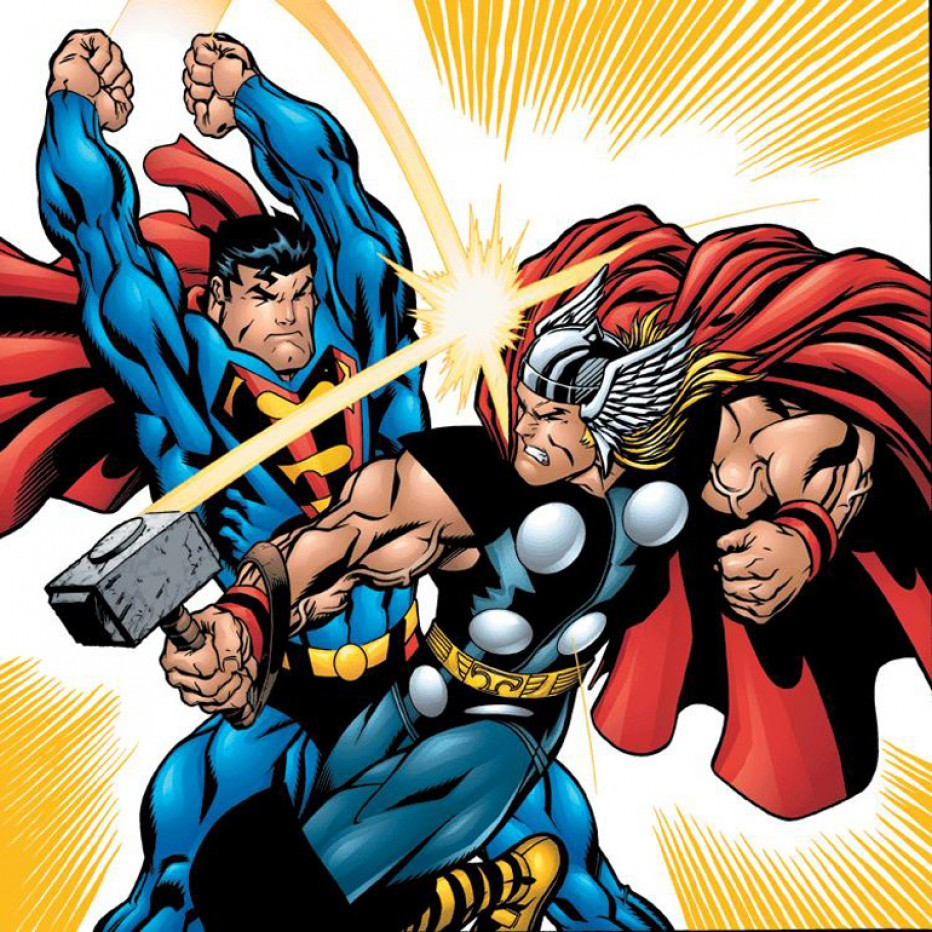 Et maintenant : Superman Vs. Thor