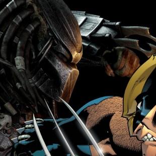 Surprenant Wolverine Vs. Predator!!!