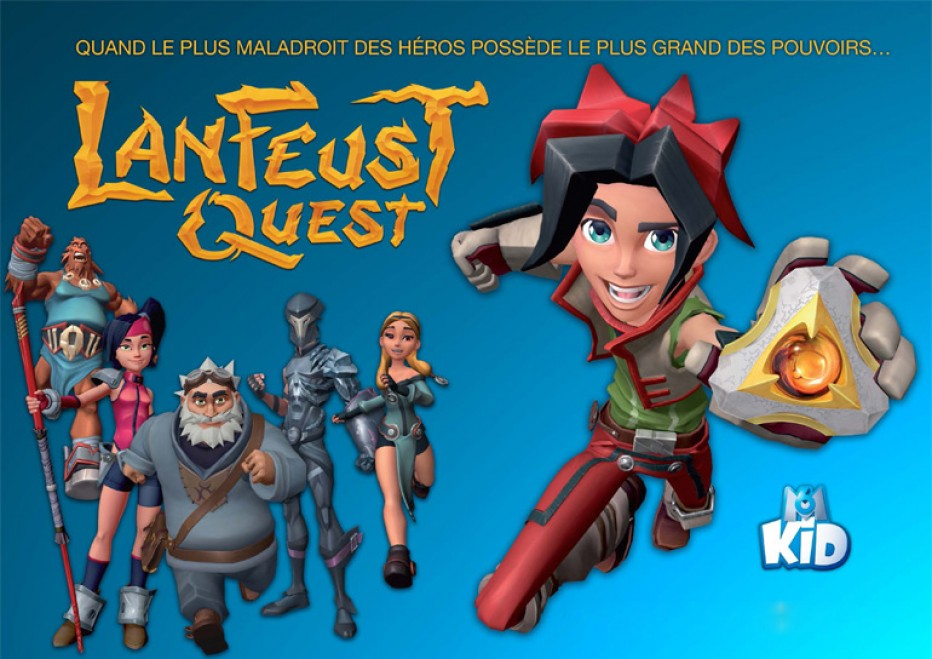 Découvrez Lanfeust Quest, la nouvelle série d'animation sur M6 Kid