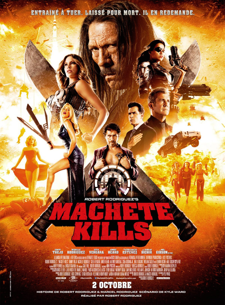Machete Kills débarque et ça va faire mal!