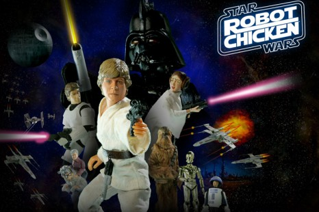 Sortie de Robot Chicken Star Wars , le coffret 3 DVD.