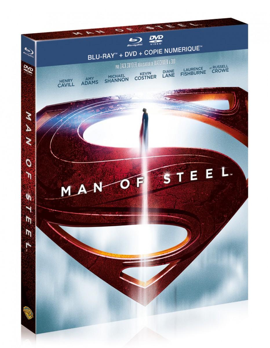 [Exclu] Sortie de Man Of Steel en combo Blu-ray/DvD