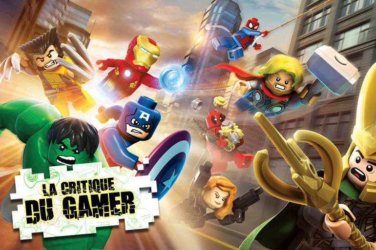 La Critique du Gamer : LEGO Marvel Super Heroes