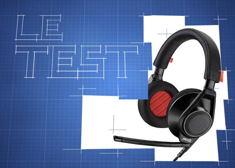 [Le Test] Découvrez le casque RIG Plantronics