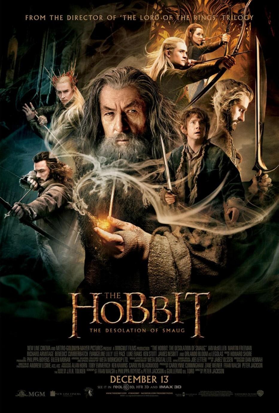 Un nouveau trailer pour Hobbit : La désolation de Smaug…