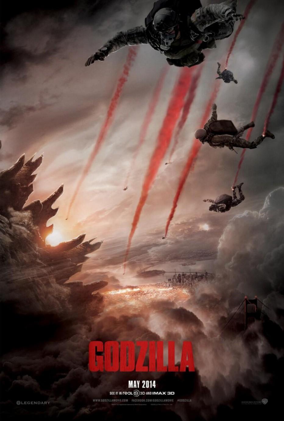 Et maintenant, on vous dévoile Godzilla!