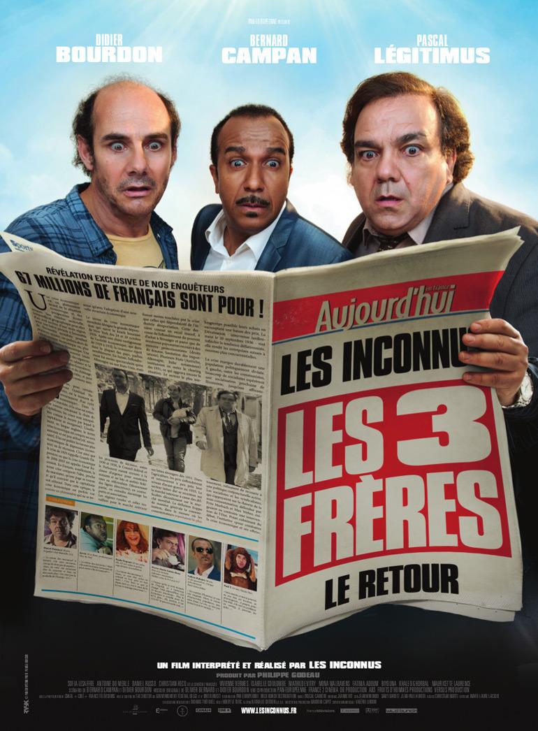 Trois Frères, le retour : la bande-annonce officielle !