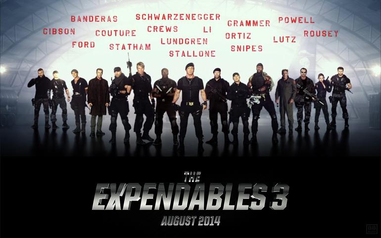 Tous les posters du casting d'Expendables 3