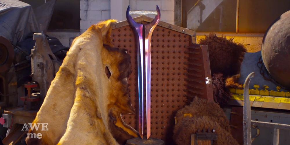 Il a forgé l'Energy Sword d'Halo…