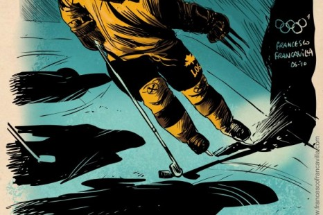 Francesco-Francavilla-The-Winter-SUPER-Olympics-Wolverine.jpg
