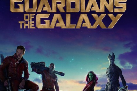 Gardians Of The Galaxy : le poster