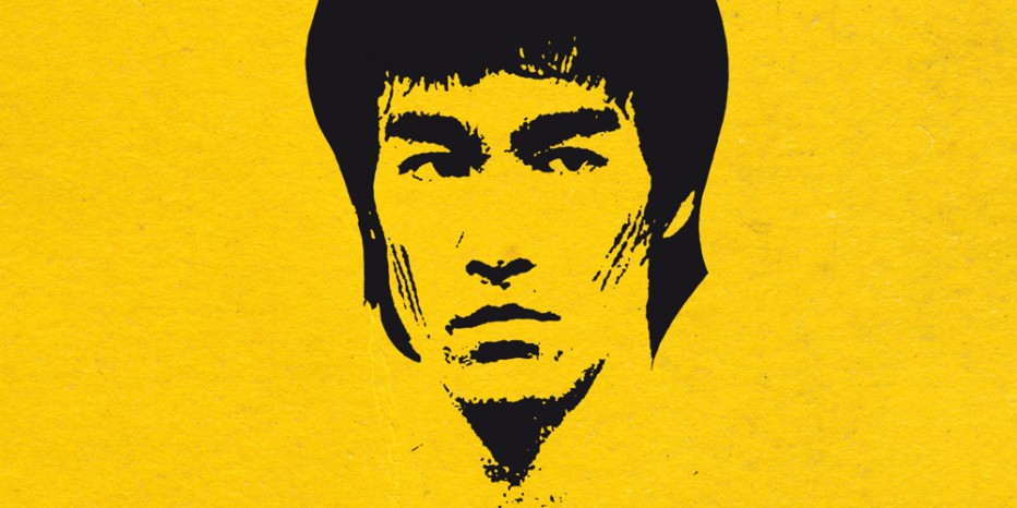 Bruce Lee bluffant dans UFC