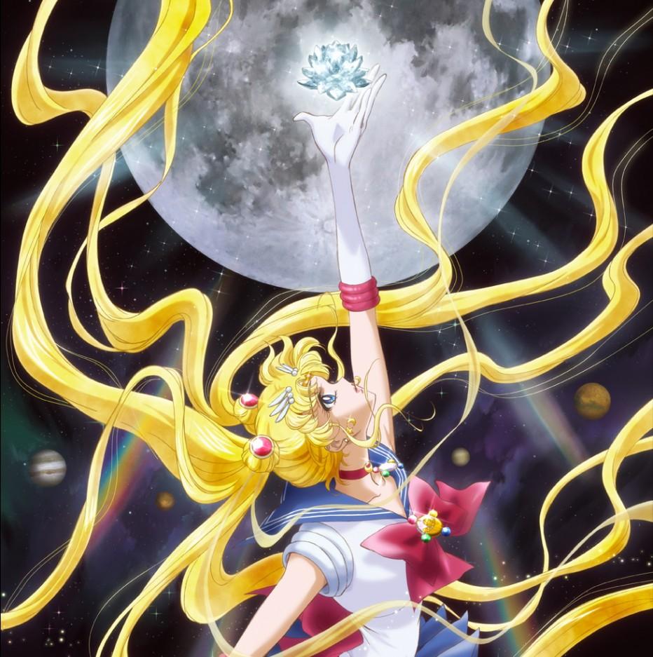 Des artworks pour Sailor Moon Crystal