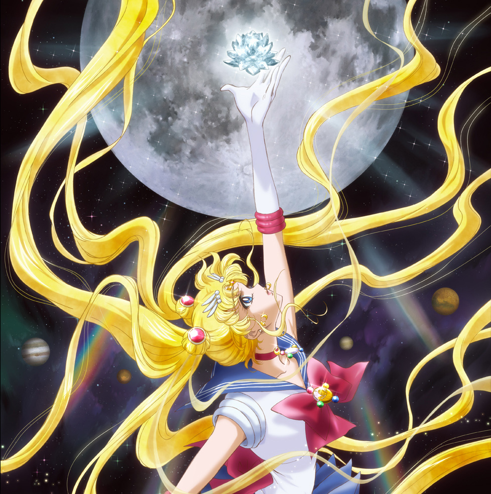 Des artworks pour Sailor Moon Crystal