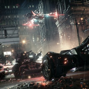 La Batmobile en mode combat