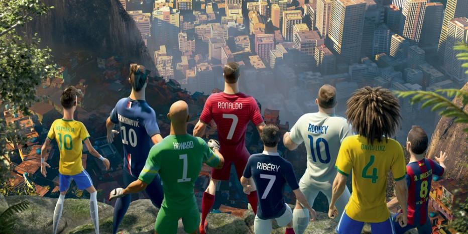Super animé pour Nike Football: The Last Game