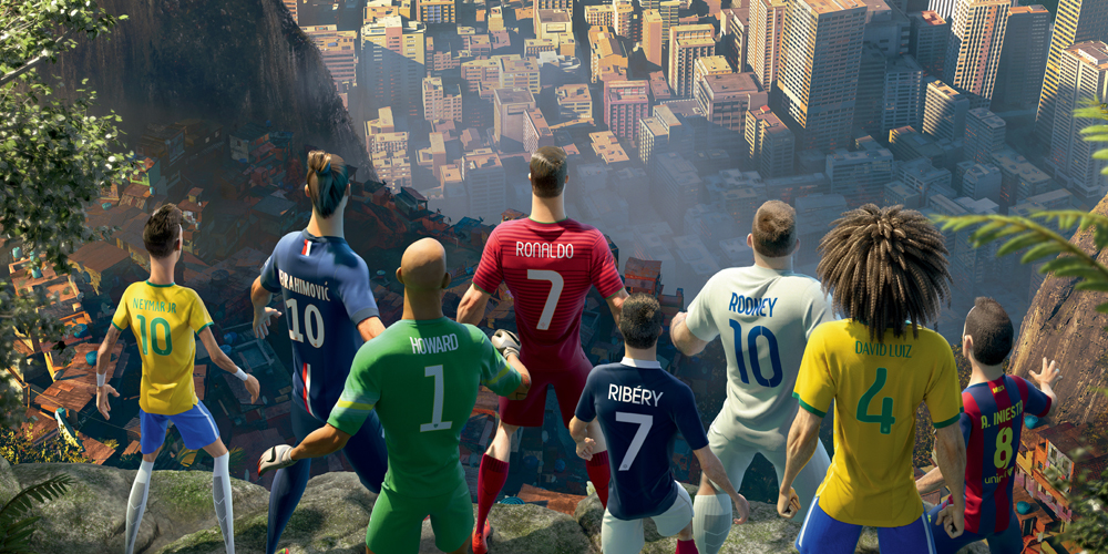 Super animé pour Nike Football: The Last Game