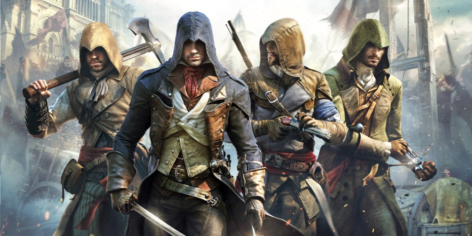 Assassin's Creed Unity Parkour en live !