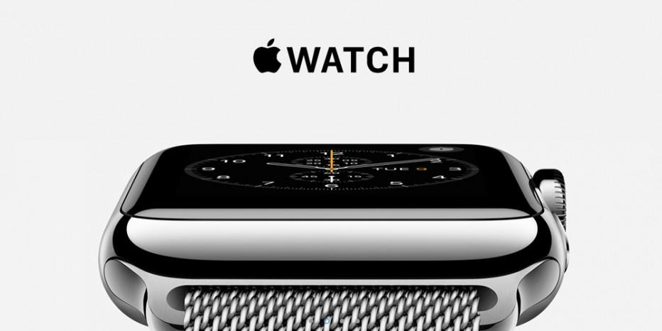 Découvrez l'Apple Watch