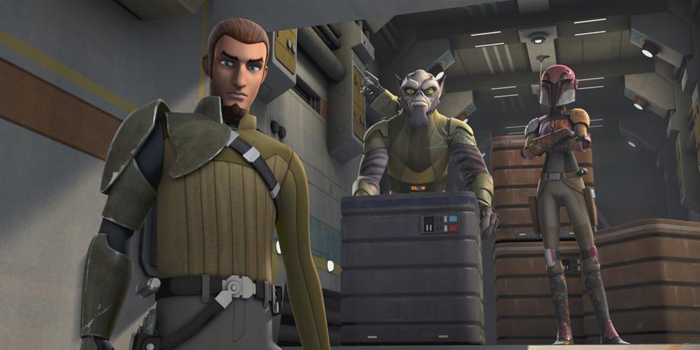 Des Extraits pour Star Wars Rebels