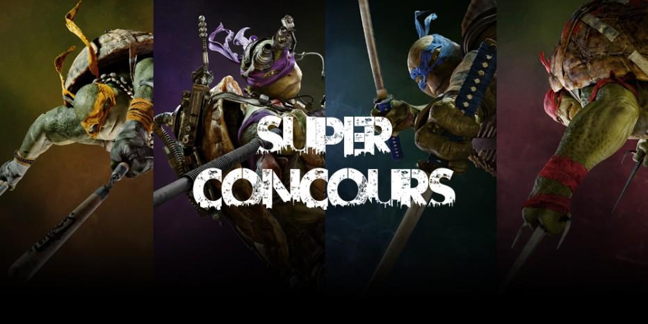 [Terminé]**Super Concours** Ninja Turtles