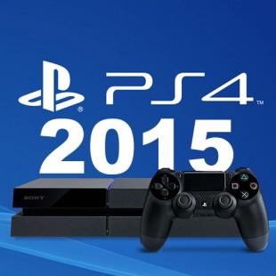 2015 sera grandiose sur PS4 !