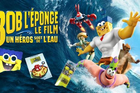 [Terminé]** Concours** Bob l'Eponge – Le Film