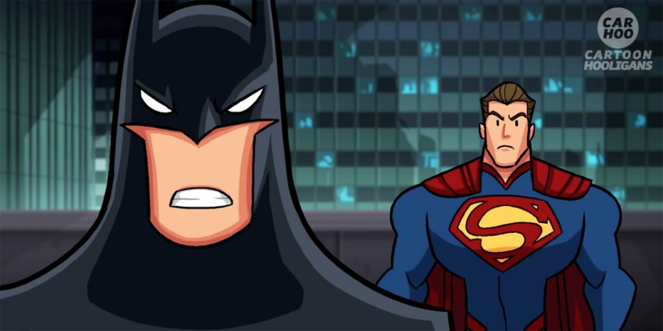 Batman et Superman s'embrouillent…