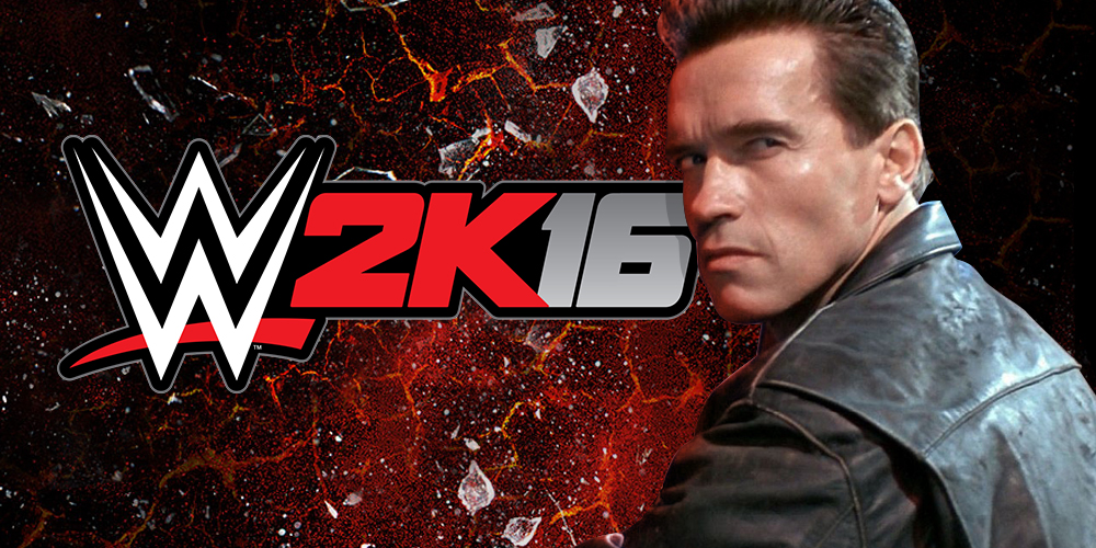 Terminator débarque dans WWE 2K16 !