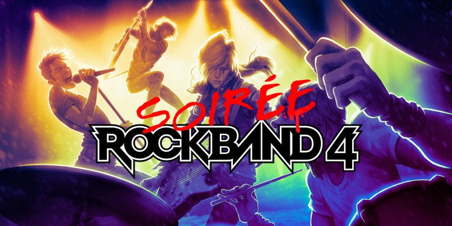 Soirée Rock Band 4
