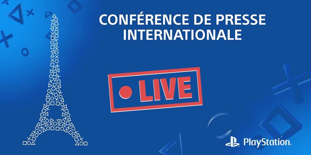 Suivez le Live Playstation PGW 2015