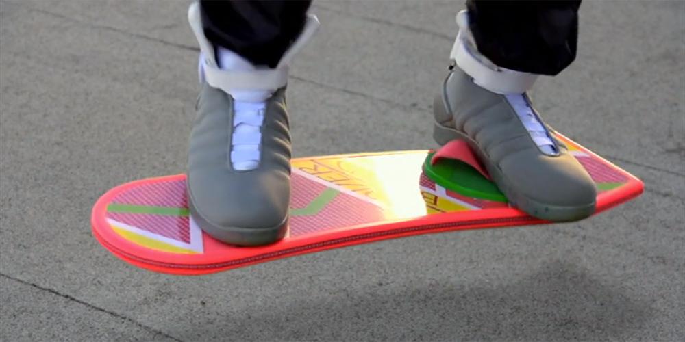 Un spot pour l'Hoverboard