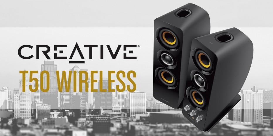 Découvrez les Créative T50 Wireless
