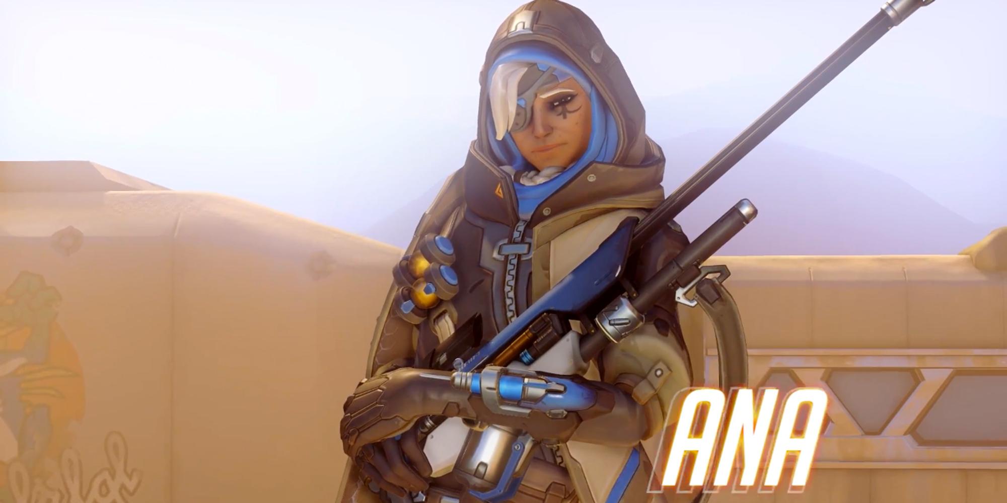 OverWatch : Découvrez Ana !