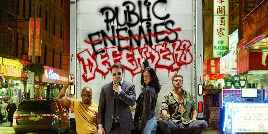 The Defenders se dévoilent en images…