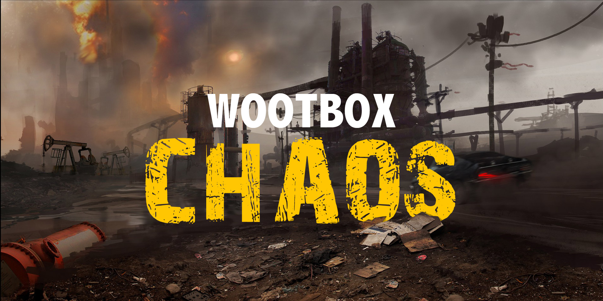 Nouvelle Wootbox «CHAOS» du mois de Février 2017