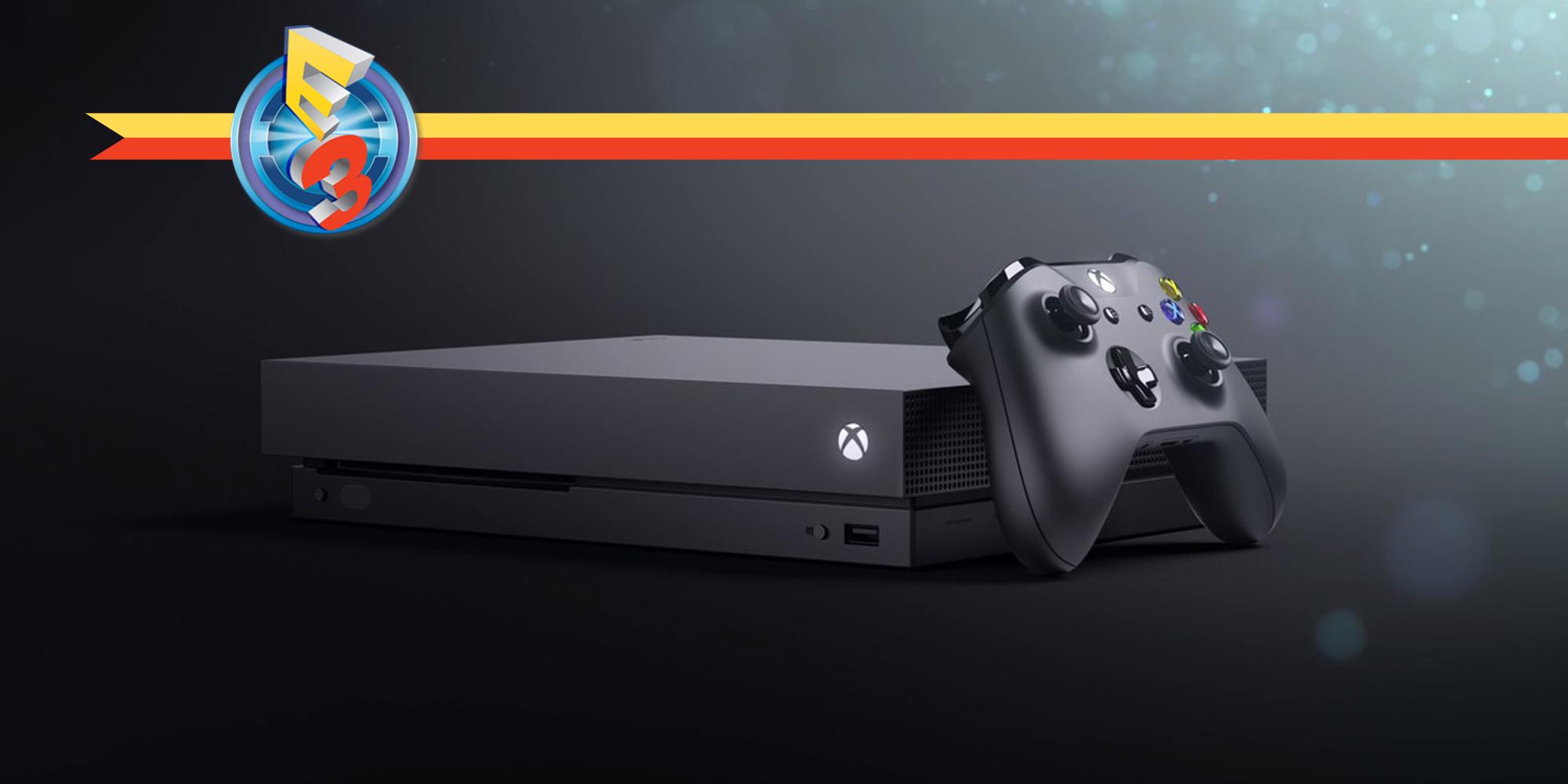 [E3 2017] Voici la XBOX One X !
