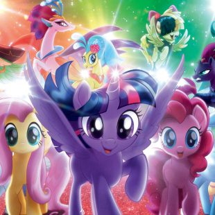Paillettes et Arc-en-Ciel, voici My Little Pony !