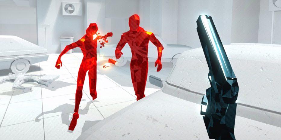 Test de SUPERHOT VR en mode Matrix !
