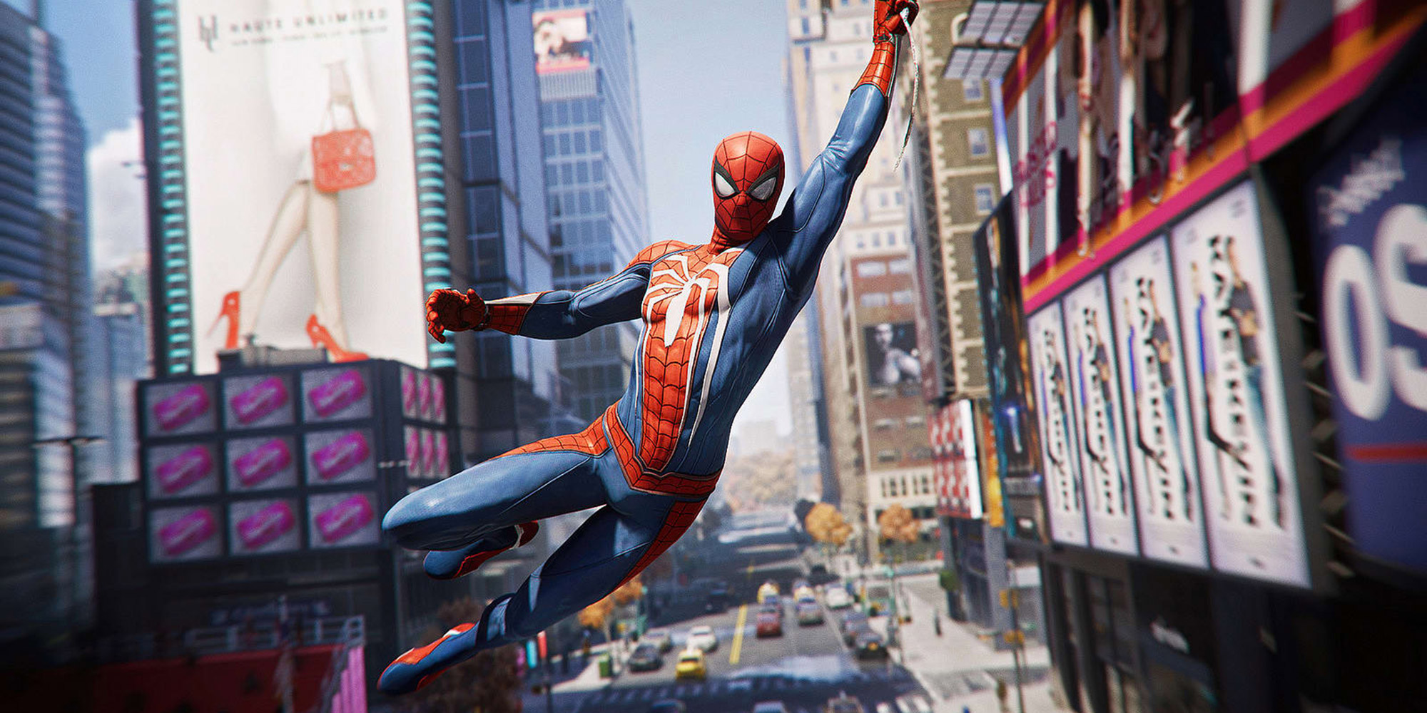 L'impressionnant open-world de Spider-Man PS4